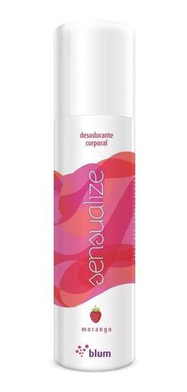 Desodorante Íntimo Sensualize Morango 166ml Blum Sex Shop