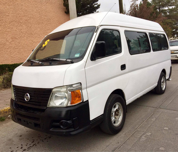 Nissan Urvan 3.0 Gx Diesel Larga 15 Pas Ac Mt 2009