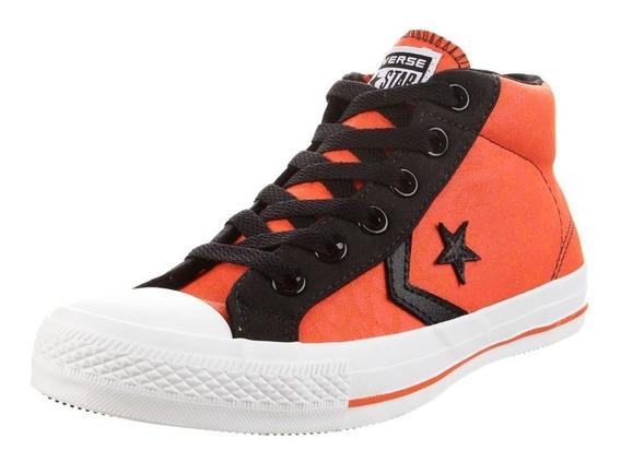 Zapatilla Naranja Converse Star Player - Envío Gratis