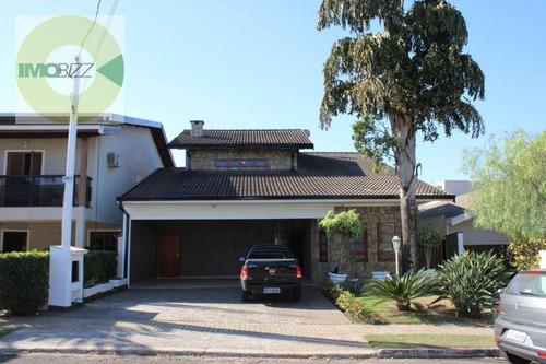 Casa Residencial À Venda, Condomínio Reserva Colonial, Valinhos. - Ca1967