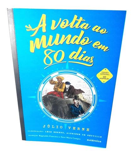 A Volta Ao Mundo Em 80 Dias Livro Julio Verne