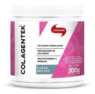 Colagentek -colágeno, Multivitaminas Minerais 300g - Vitafor
