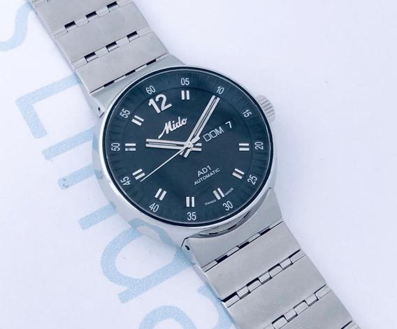 Reloj Mido All Dial Ad1 Automático Negro