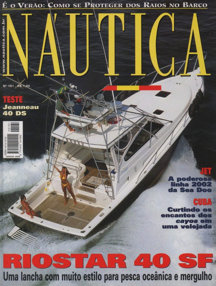 Náutica Nº161 Jeanneau 40 Ds Riostar 40 Sf Sea Doo Jet