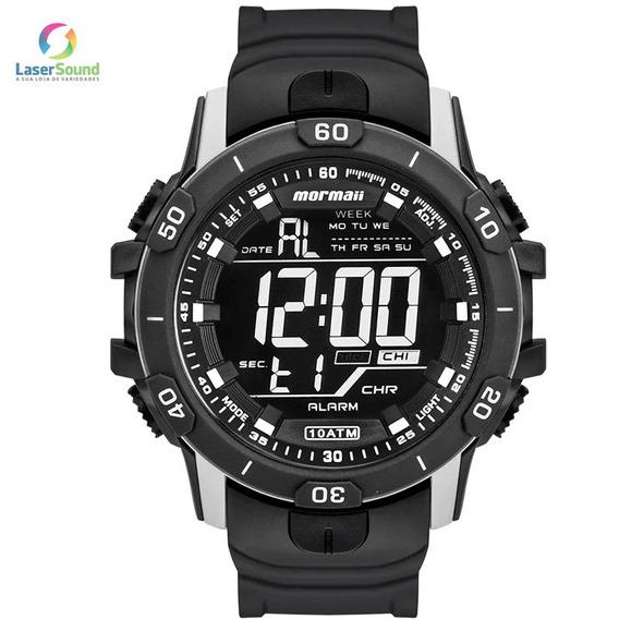 Relógio Mormaii Masculino Mo3690aa/8c, C/ Garantia E Nf