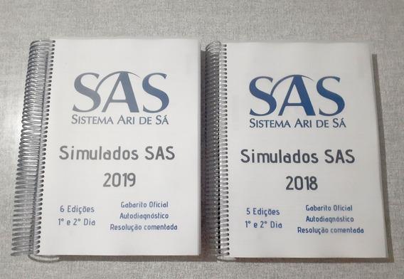 Kit - Simulados Sas 2018 E 2019