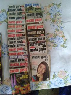 Lote Revistas Mucho Gusto Años 70 Y 80