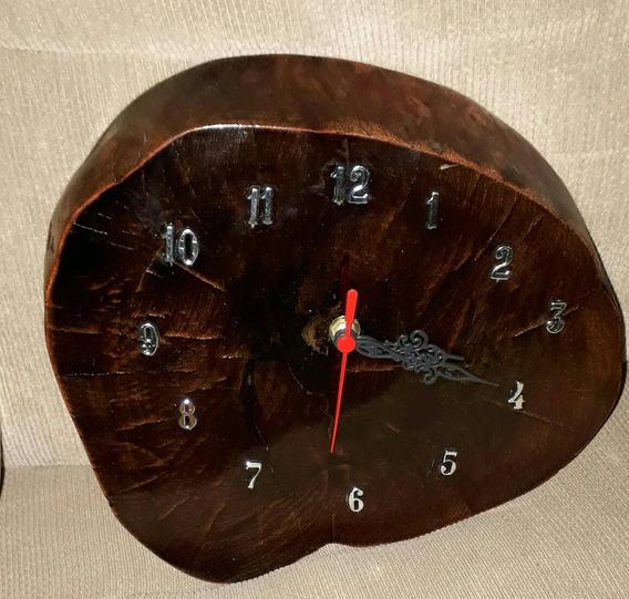 Relógios De Parede Rústicos Em Madeira