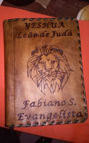 Restauramos Biblia Em Couro Legitimo, Com Seu Nome.