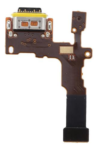 Imagen 1 de 9 de Flex Cable De Carga De Repuesto Para LG Stylo 4 Q710 Q71
