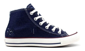 Tênis All Star Converse Ct1197 Jeans Azul Loja Pixolé