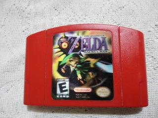 N64 Zelda Majoras Mask Se Reemplazo La Carcasa(portada Origi
