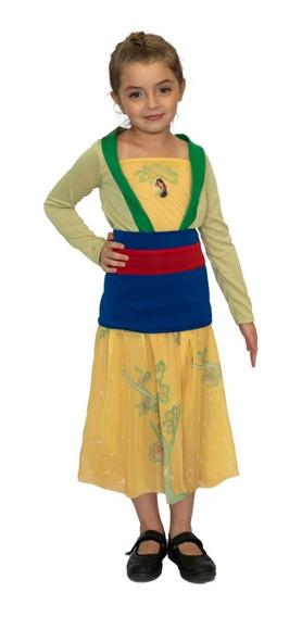 Disfraz Princesas Disney Mulan Original Newtoys Mundo Manias
