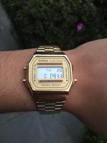 Relógio Casio Dourado Em Aço Temos Mais Cores