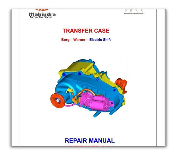 Mahindra Manual De Reparo 4x4 Mahindra Todas Crde M-hawk
