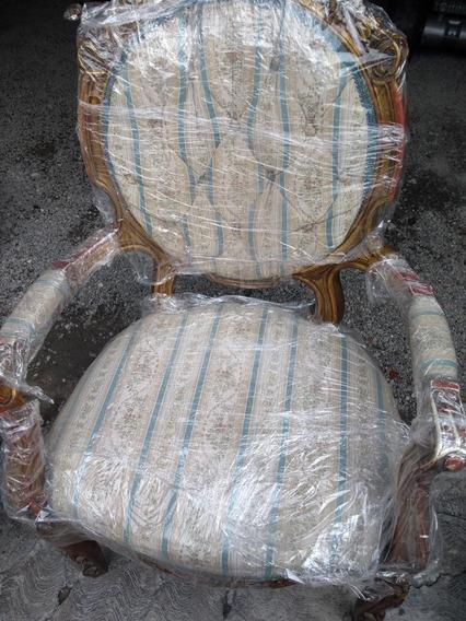 Sillón Individual Original Luis Xv, Para Restaurar