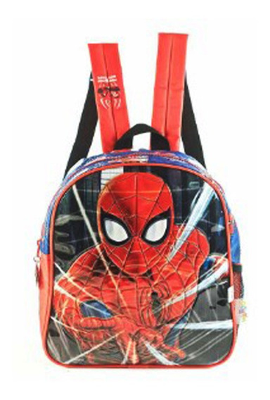 Mochila Spiderman Sense Espalda 12 Pulgadas Original