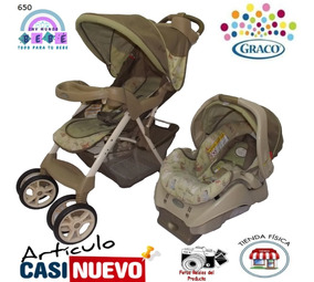 Coche Y Portabebe Graco Impecable.-
