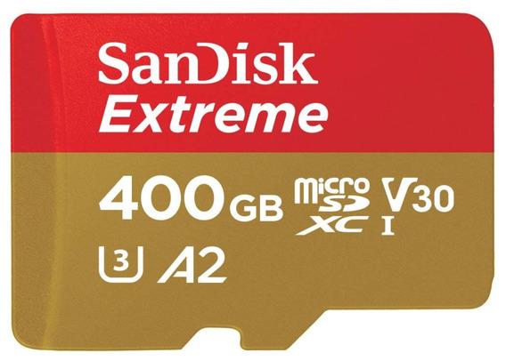 Memoria Gopro Hero 5 6 7 Micro Sd Sandisk Extreme 400gb A2