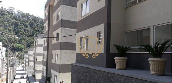 Apartamento Com 2 Dormitórios Para Alugar, 49 M² Por R$ 700/mês - Pimenteiras - Teresópolis/rj - Ap0152
