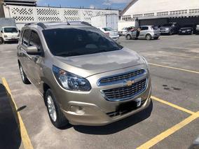 Chevrolet Spin 1.8 Lt 5l Automática 5p 2014 Cor Bege