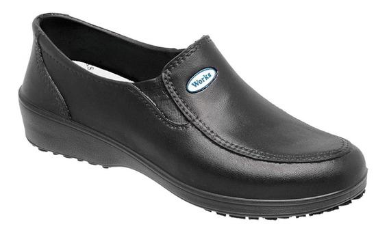 Sapato Profissional Feminino Bb95 Ca Nº 40293 Antiderrapante