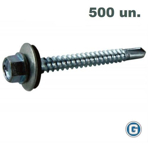 Tornillo Autoperforante Techo 14 X 1 1/2 Punta Mecha X500 Un
