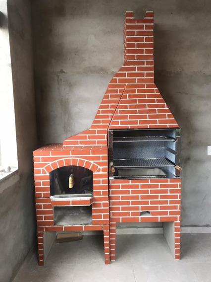 Churrasqueira Media 65cm E Forno De Pizza ´´napoly´´