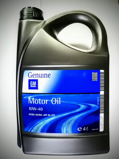 Aceite 10w40 General Motors (gm) 4 Lts.