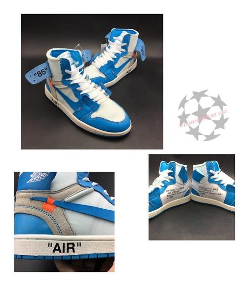 Air Jordan 1 Off White / Clear Blue