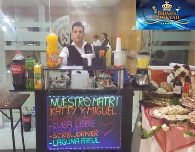 Servicio De Barman, Bartender A Domicilio, Barra Movil Y Dj