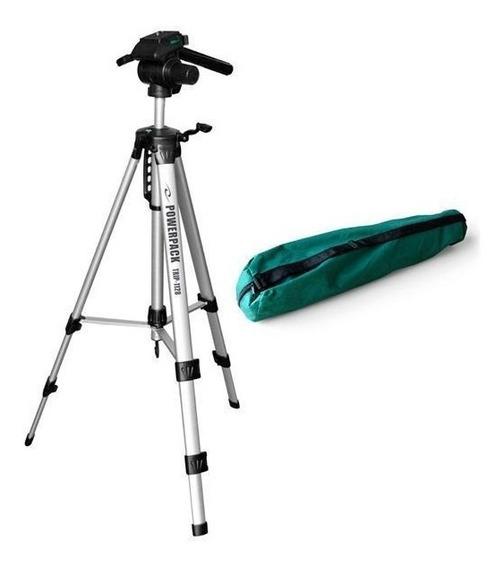 Tripé Profissional Camera Powerpack Trip-1128 Alt.max 170cm