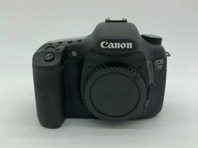 Canon 7d Usada Otimo Estado 18 K De Clicks Canon T6i Canon