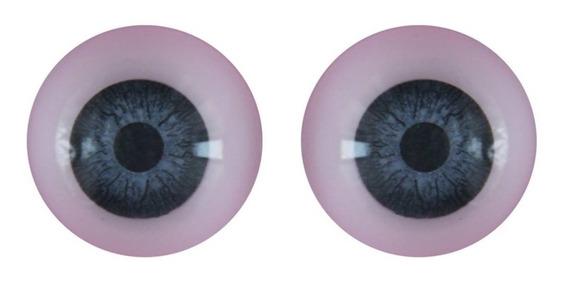 Ojos Redondos Nro 20 Reales Duendes Muñecos Muñecas X 10u
