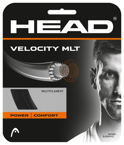 Head Velocity Tennis String Set, 16 G, Natural