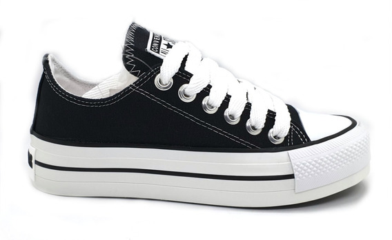Zapatilla De Lona C/plataforma No Convers All Star