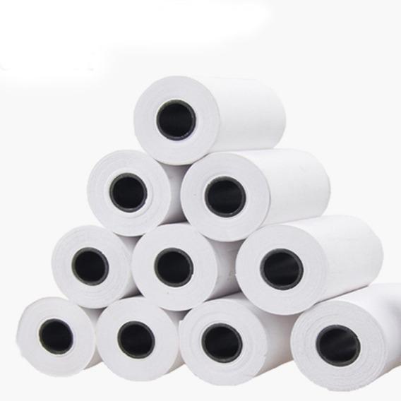 Caixa De Bobina Térmica Para Pdv 80x30 C/ 30 Unidades Branca