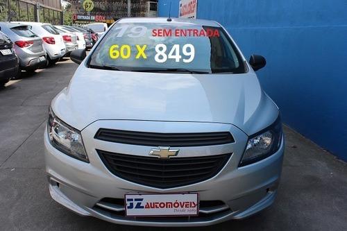 Chevrolet Onix Joy 1.0 Financiamento Zero De Entrada Em 60x