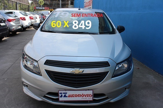 Chevrolet Onix Joy 1.0 Financiamento Zero De Entrada Em 60x