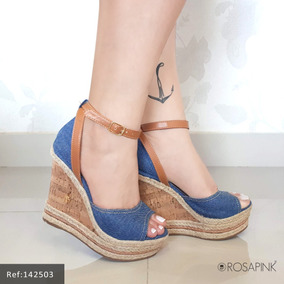 Sapato Anabela 11 Cm
