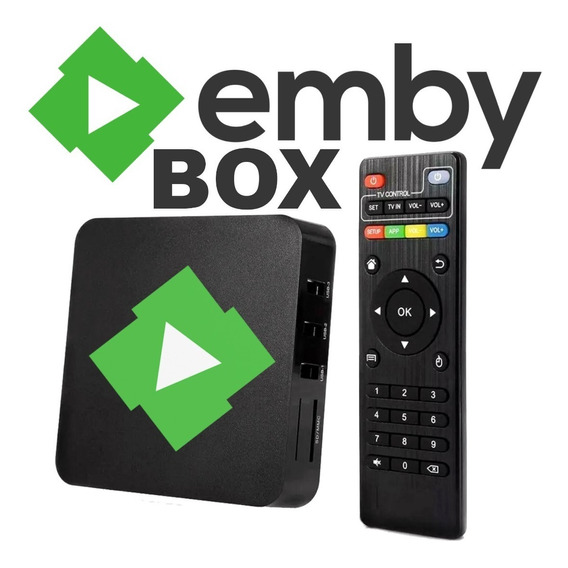 Emby Box + Hd Externo 1tb (emby Server Offline)