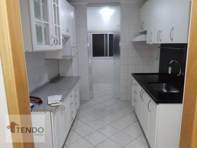 Apartamento 66 M2 - 2 Dormitórios - Centro - Diadema. - Ap0457