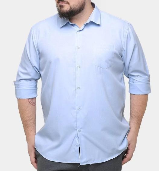 Kit 3 Camisas Social - Extra Grande / Plus Size
