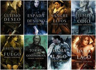 The Witcher Saga Del Brujo Geralt De Rivia Novela Completa