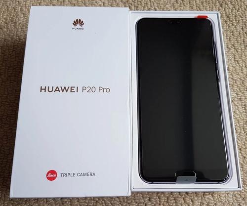 Huawei P20 128gb, 4gb Ram, 3 Camaras Como Nuevo, Unico Dueño