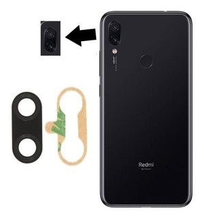 Lente Vidro Câmera Traseira Xiaomi Redmi Note 7