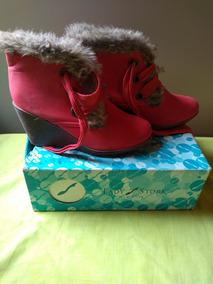 Zapatos Botitas,muy Comodas Numero 36/37 ,para Pies Delgados