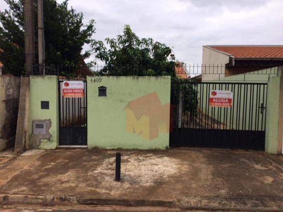 Casa De 03 Cômodos Na Frente + Edicula De 03 Cômodos Nos Fundos No Pq. Novo Mundo - Ca0407
