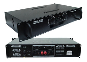 Amplificador Mark Audio By Attack Mk 1200 Potência Mk1200