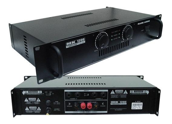 Amplificador Mark Audio By Attack Mk 1200 Potência Mk1200
